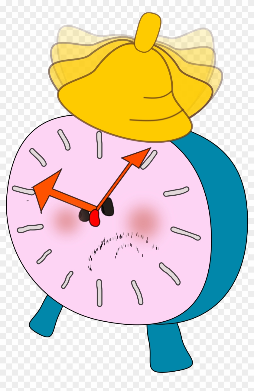 Free Alarm Clock Is Angry - Animated Alarm Clock Clipart #261661