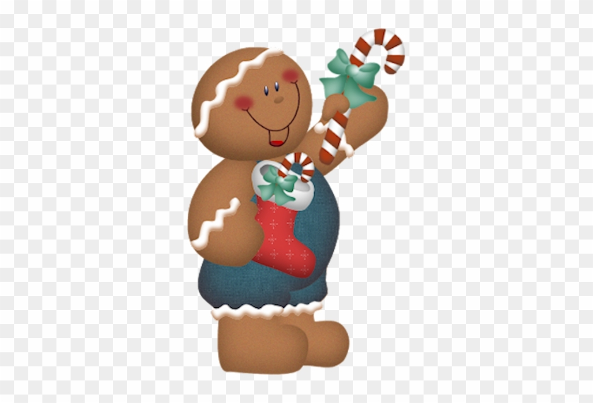 Country Clipart Gingerbread Man