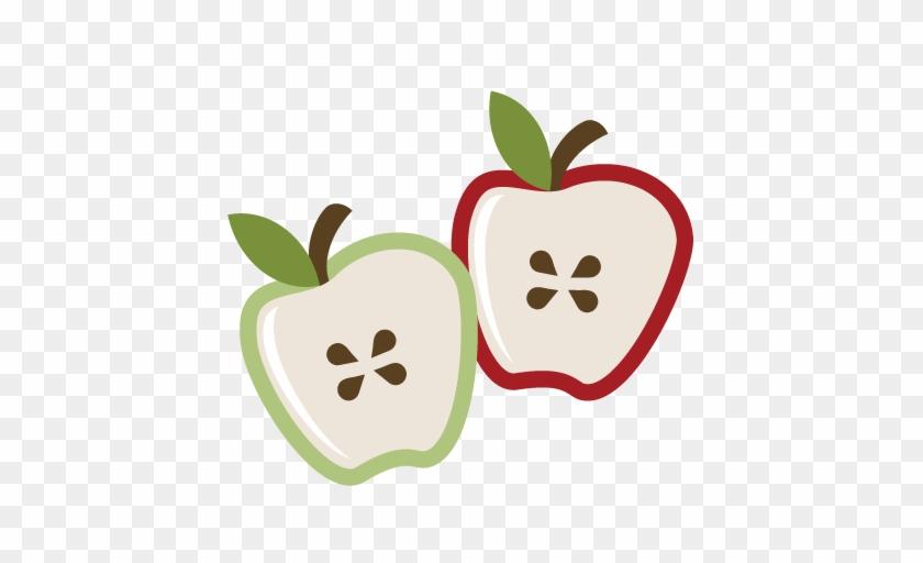 Apple Cut Clip Art - Apple Slices Clip Art #262292