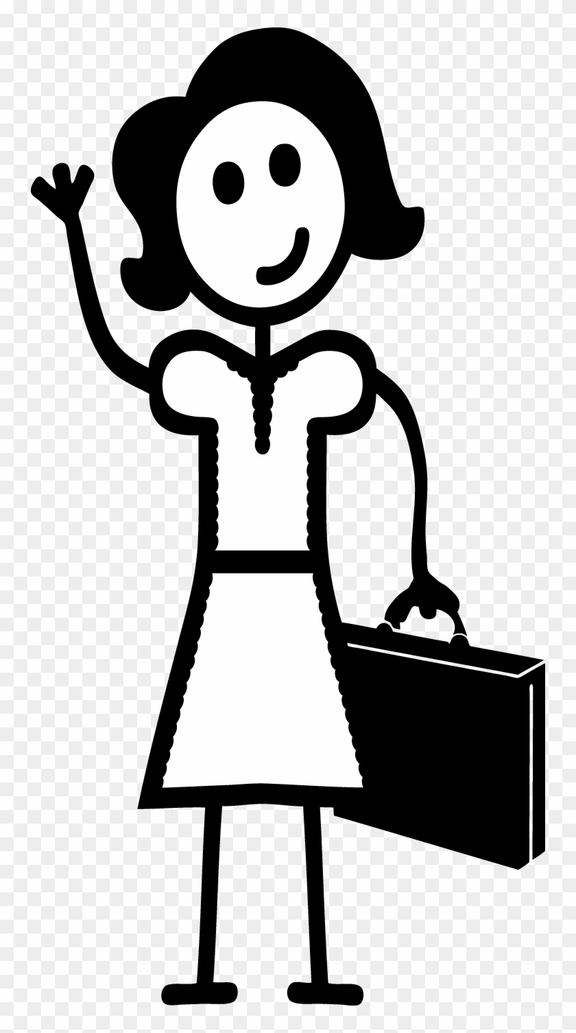 Mom Mother Women Mommy Adult Sticker Decal Car Window Stick Figure Working Woman Free Transparent Png Clipart Images Download [ 1505 x 840 Pixel ]