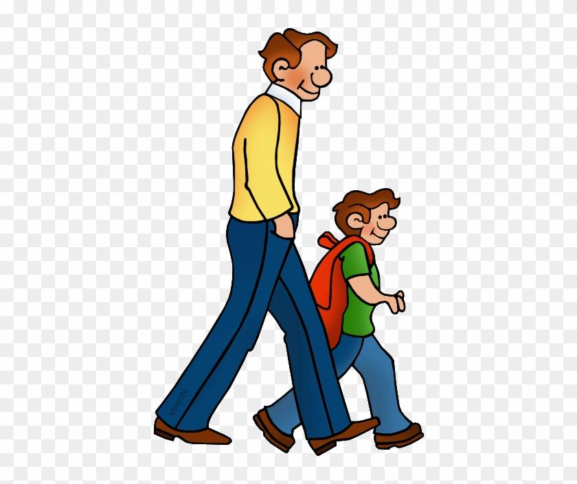 Walking - Phillip Martin Clipart School #262386