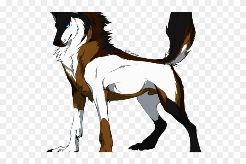 Drawn Werewolf Father - Male Cartoon Wolf #1707927