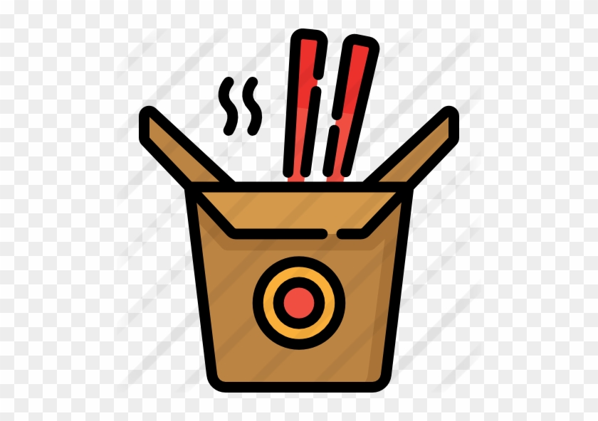 Chinese Food Free Icon - Picnic Basket Icon #1708493