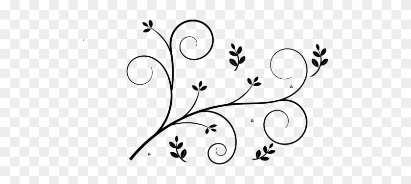 Simple Border Flower Design #1708556