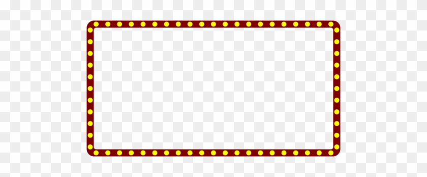 Marquee Lights Png Clipart #1708589