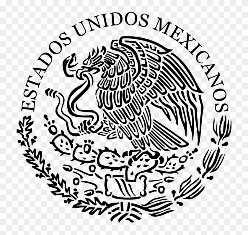 Medium Size Of Coloring Pages Coat Of Arms Of Mexico Free Transparent Png Clipart Images Download