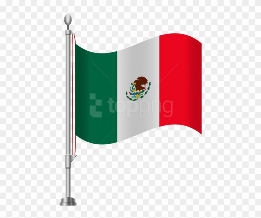 Free Png Download Mexico Flag Clipart Png Photo Png - Clipart Mexican Flag Transparent Background #1709348