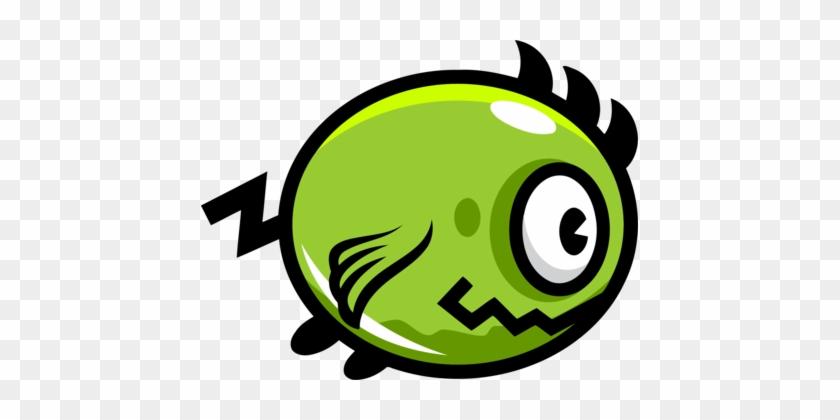 Flappy Bird Flippy Monster Game Farm Pop - Flappy Bird Game Png #1709376
