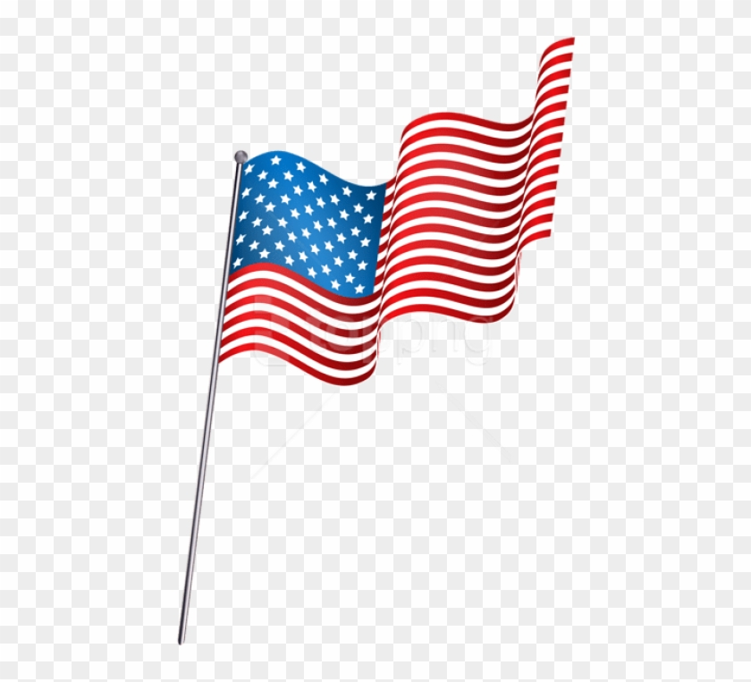 Free Png Download American Waving Flag Png Clipart - Small American Flag Png Transparent #1709684