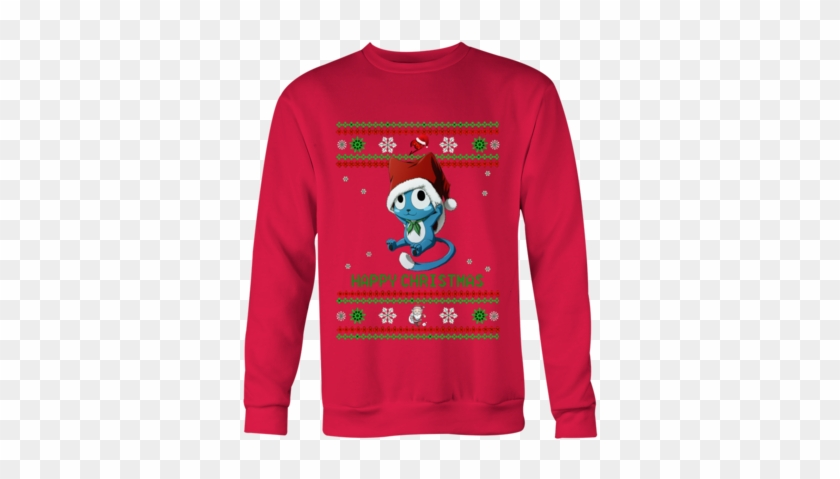 Fairy Tail Happy Animebling - Ugly Christmas Sweater Goats #1709888