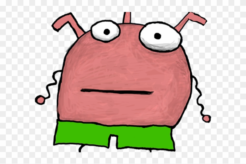 Pink Eyes Clipart Scary Monster , Png Download - Scary Monster Cute Drawing #1710522