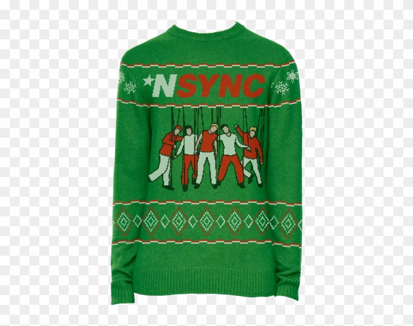This Ones A Mix Of Their Christmas Classic Merry Christmas - Nsync Ugly Christmas Sweater #1710596