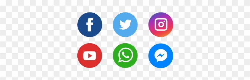 Icons, Icons, Facebook, Facebook Icon Png And Psd - Facebook Twitter Instagram Youtube Whatsapp #1712252
