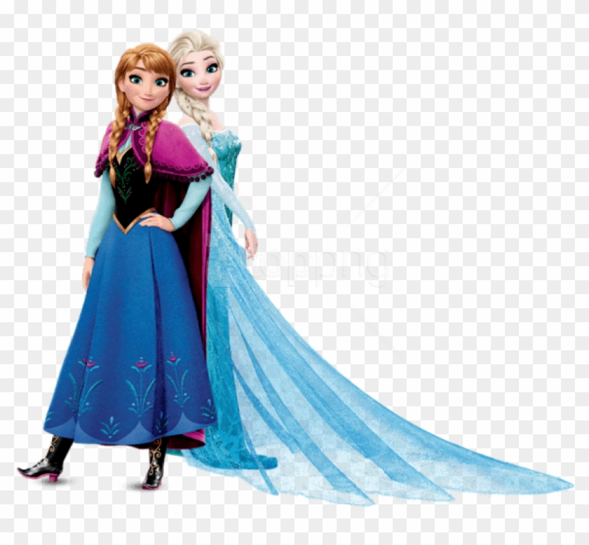 Free Png Download Anna And Elsa Frozen Clipart Png - Frozen Elsa And Anna Png #1713746
