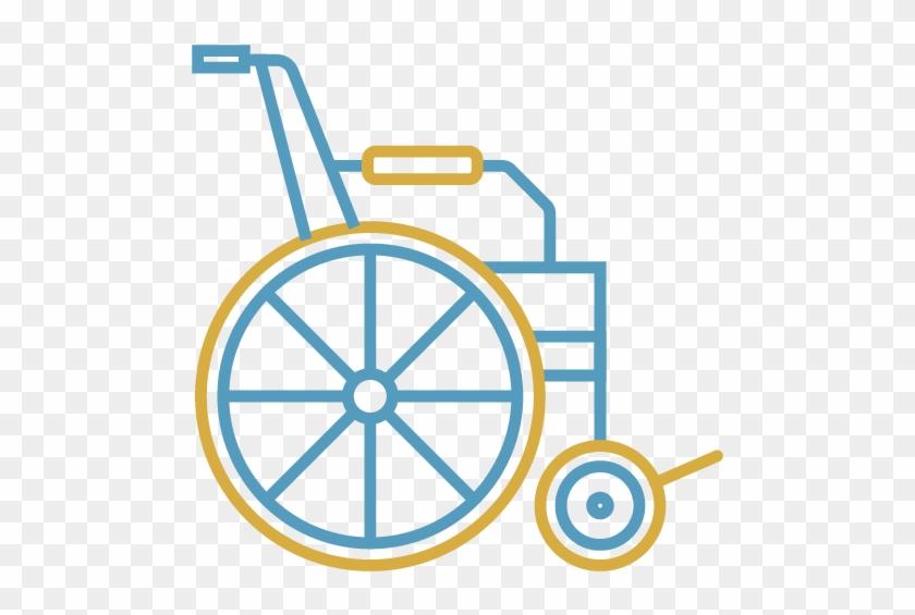Home Care For The Developmentally Disabled - Outline Orange Slice Clipart #1715608