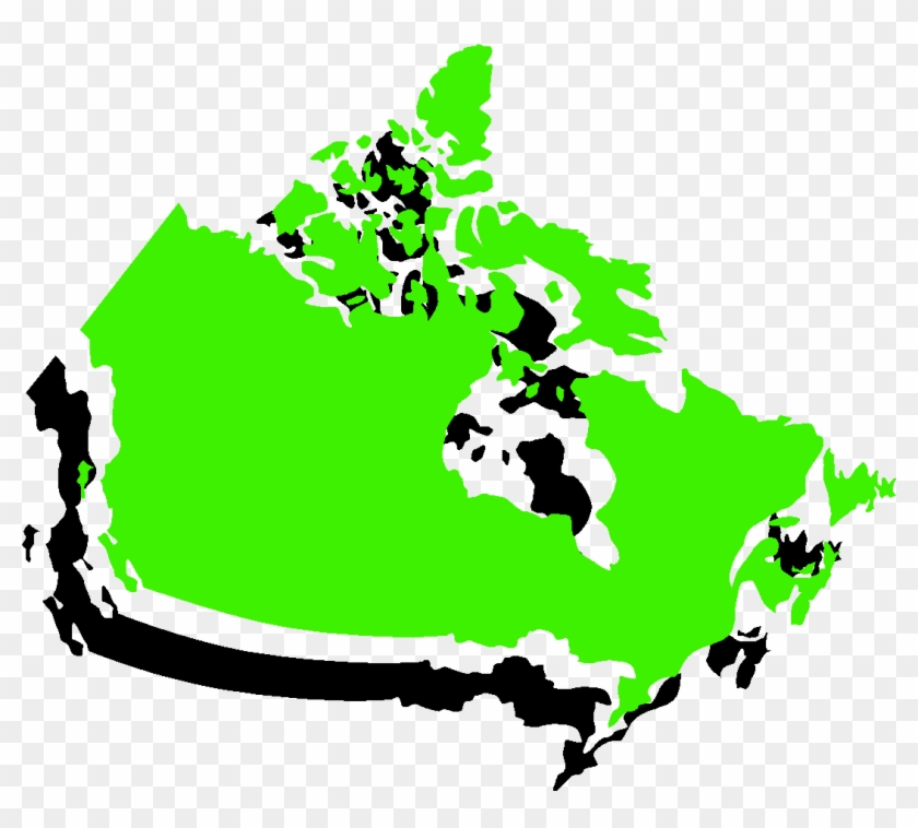 Clip Art Canada Map Geography Geography Clipart Geography Canadian   Map Of Canada Silhouette