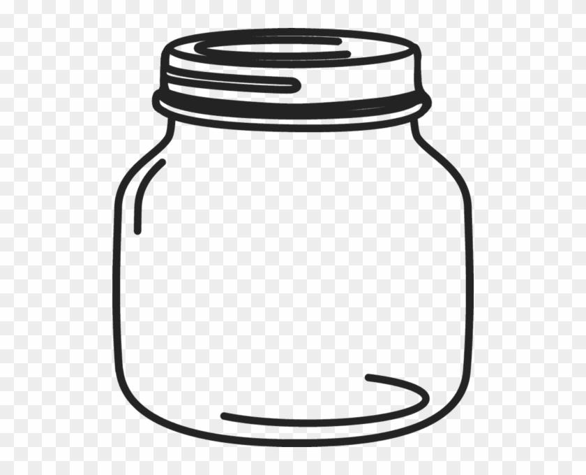 photograph relating to Printable Mason Jar Tags named Mason Ball Jar Printable Template - Mason Jar Clipart Png