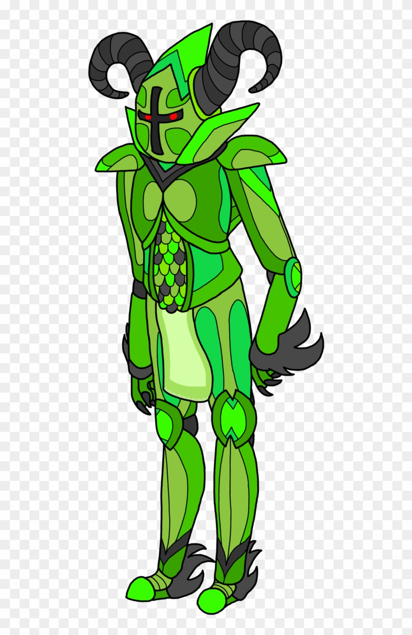 The Terra Blade From Terraria, The Most Powerful Pre-final - Terraria Chlorophyte Armor Fan Art #1717576