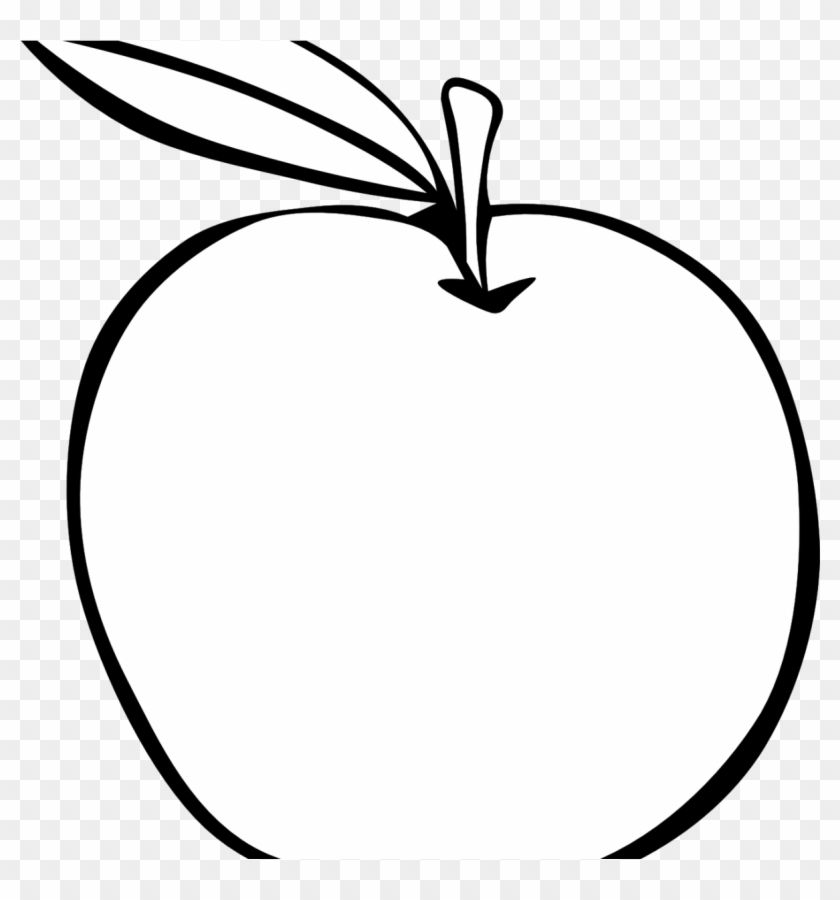 Black And White Fruit Png Library Download Huge Freebiet Apple Clip Art Free Transparent Png Clipart Images Download