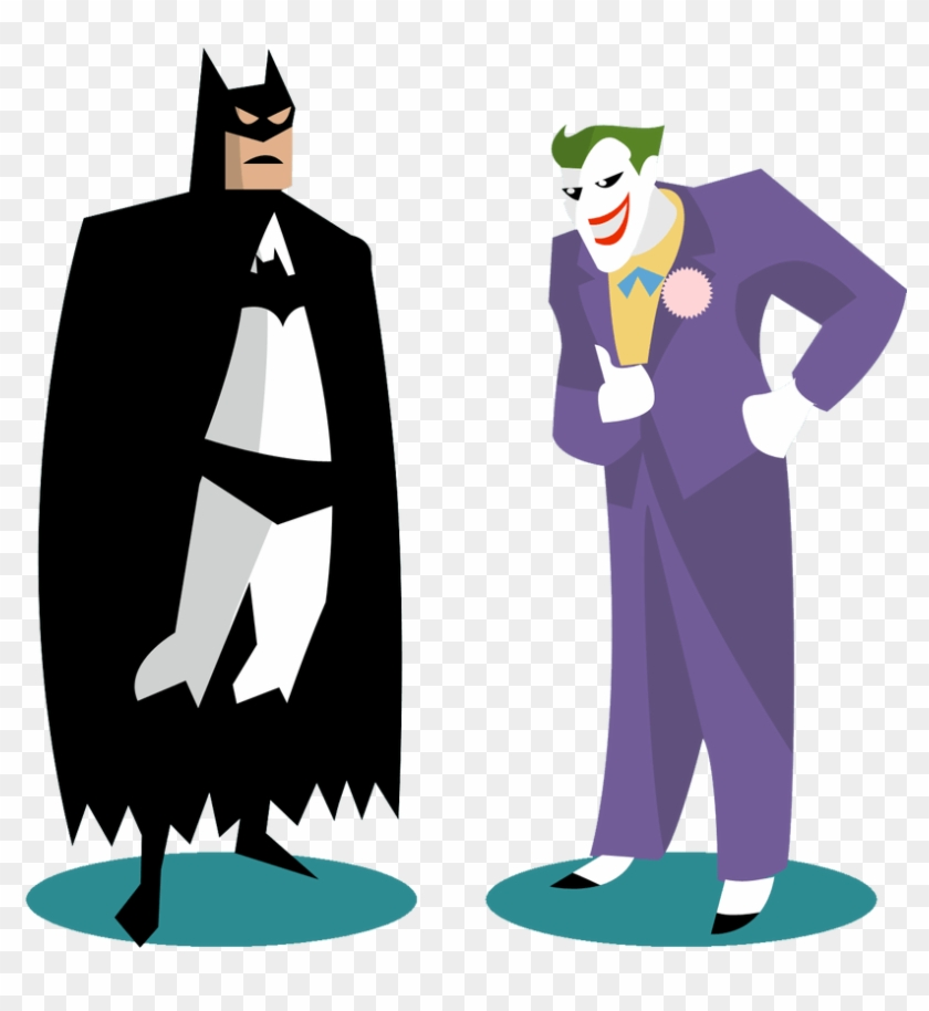 Related - Batman And Joker Clip Art #1717897