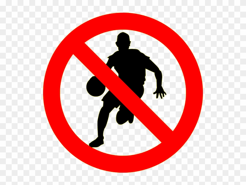 Use Your Dribble Efficiently No Dancing Or Exploring - Basketball Player Dribbling Silhouette #1718546