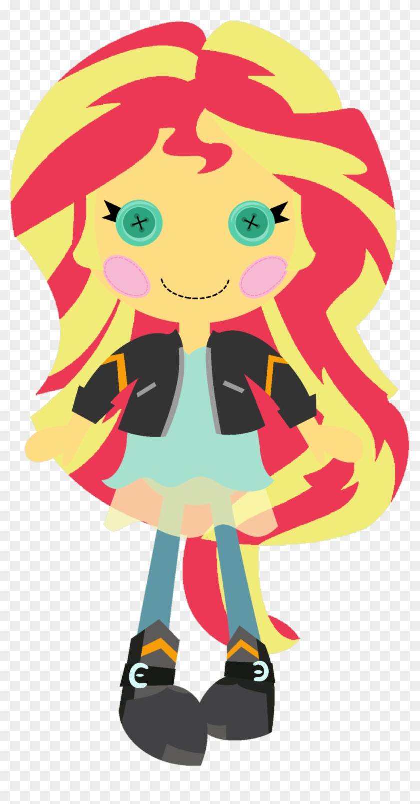 Dall Clipart Simple Doll - My Little Pony Winter Soldier #1720144
