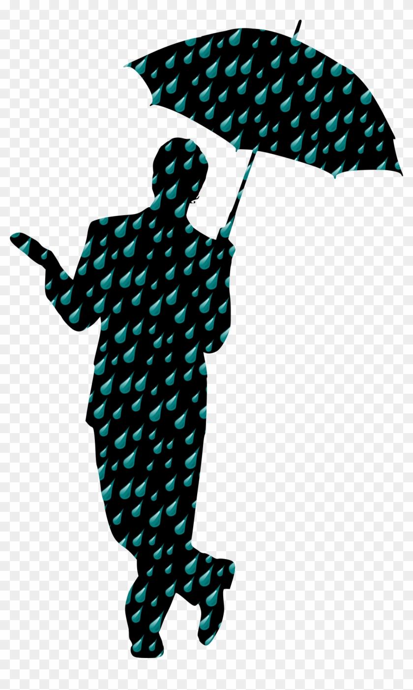 Big Image - Man Rain Umbrella Png #1721937