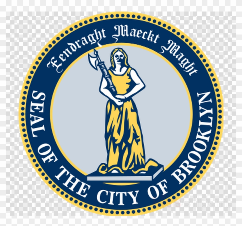 City Of Brooklyn Seal Clipart Manhattan Downtown Brooklyn - New York State Seal #1724760