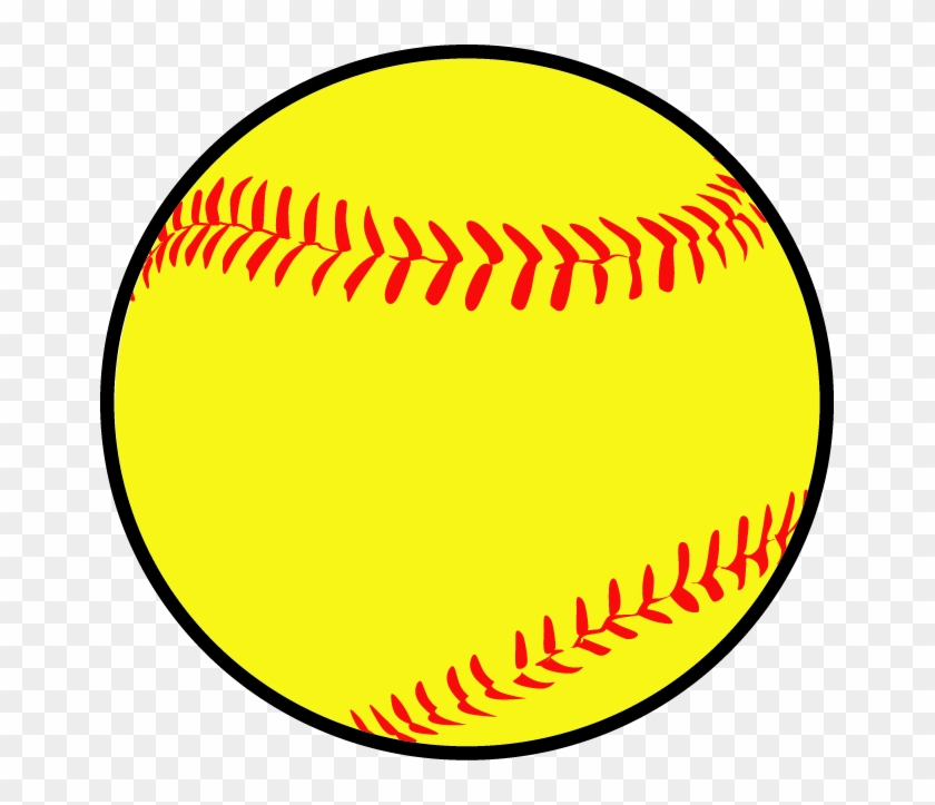 Softball Camp - Clip Art Baseball Ball #1724977