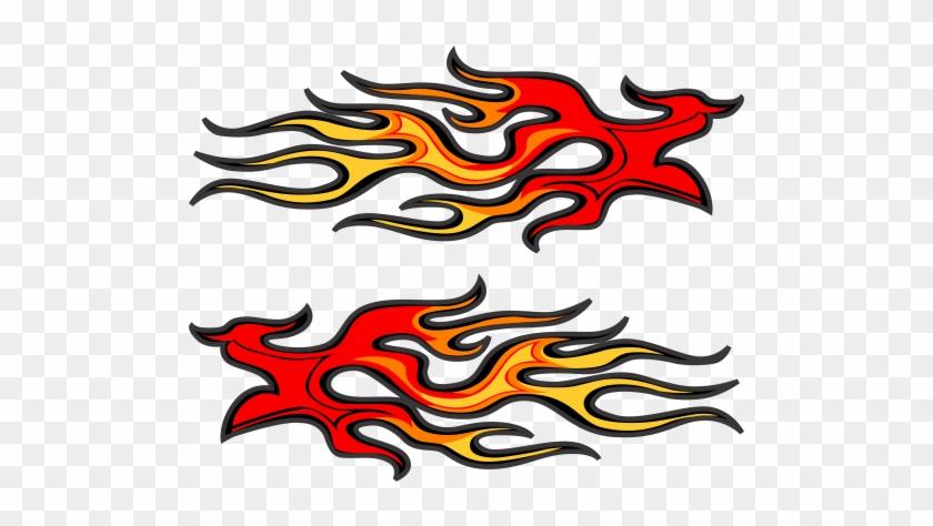 Go Kart Flames #1725344