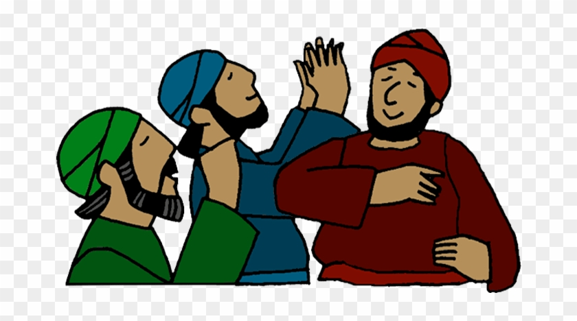 Clip Art Adapted By Www - Cartoon Praying People Png #1725399
