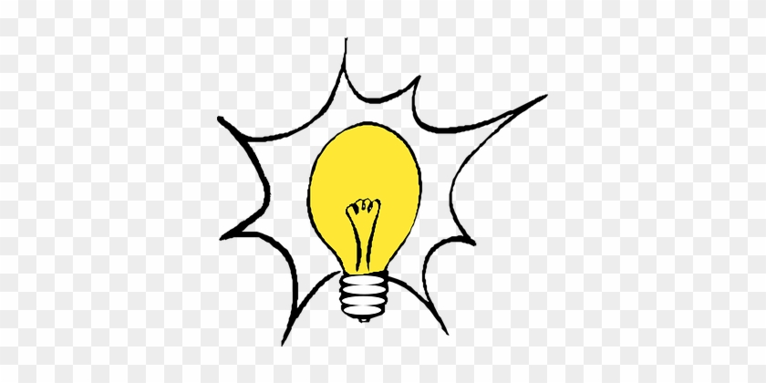Bright Clipart Electricity - Light Bulb Clip Art #1725683