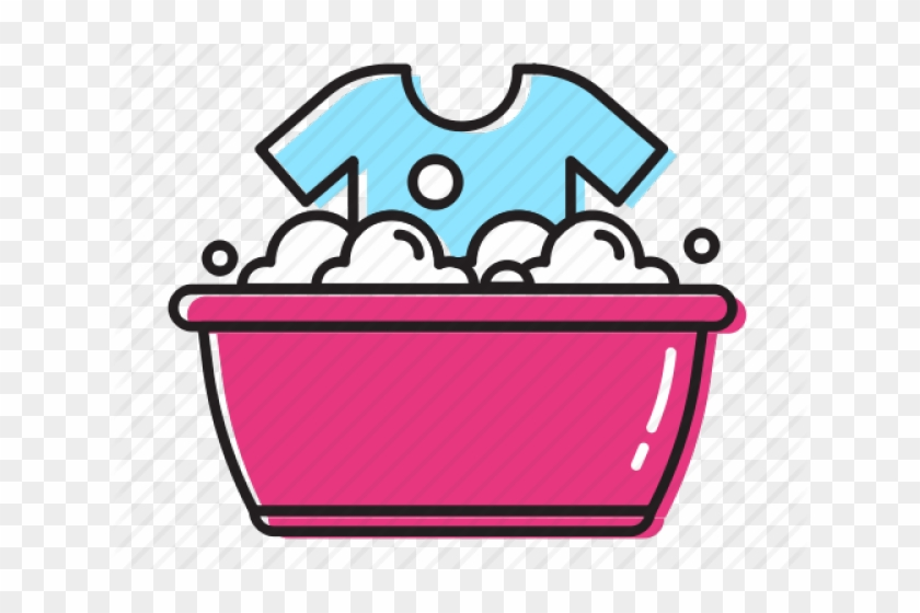 Icons Clipart Laundry - Hand Wash Clothes Icon #1726723