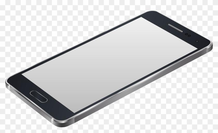 Grey Smartphone Png Clip Art Image Best Web Clipart - 3d