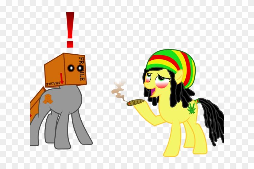 Smoking Clipart Cartoon Character Cannabis Smoking Free