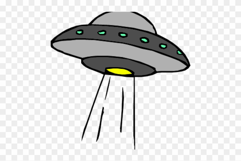 Drawn Ufo Spaceship - Alien Space Ships Cartoon #1731171