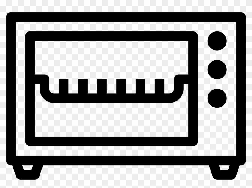 Toaster Oven Icon Free - Toaster Oven Icon #1731928