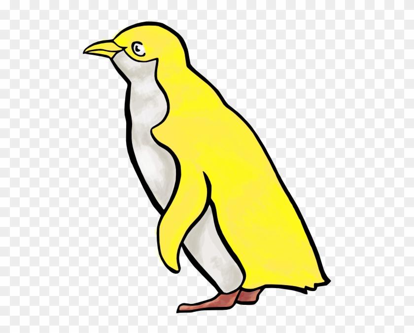 Yellow Penguin Clip Art #262779