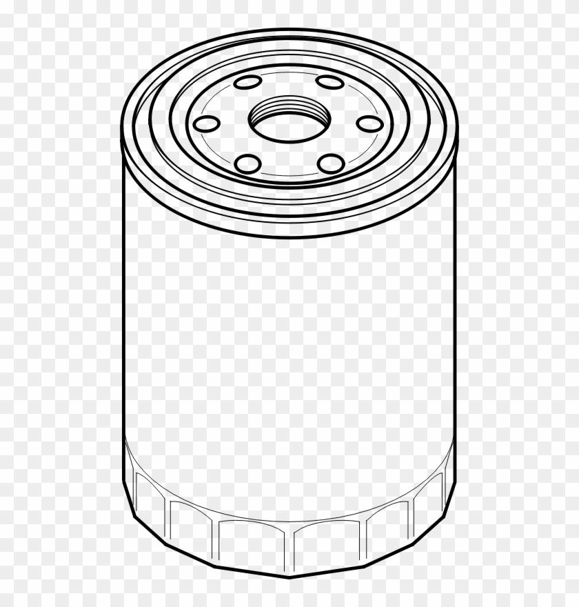 Oil Filter Vector #263022