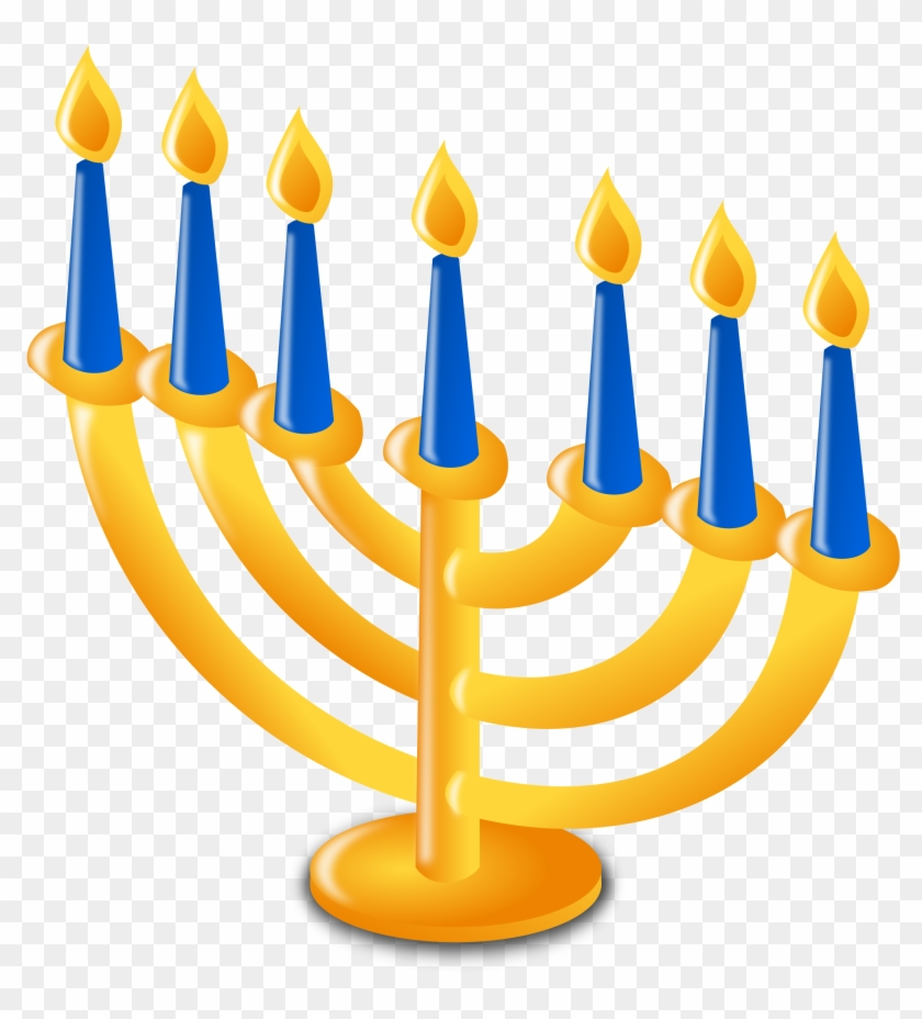 Winter Holiday Candles Clip Art Images Pictures - Judaism Clipart #263086