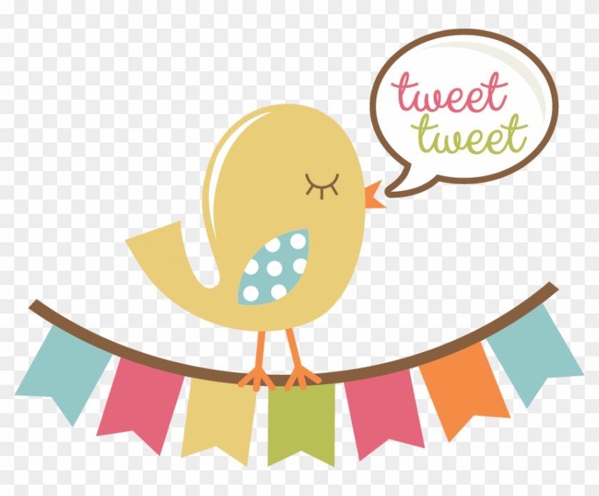 Tweet Tweet Bird Svg Scrapbook Title Bird Svg File - Scrapbook Bird #263197