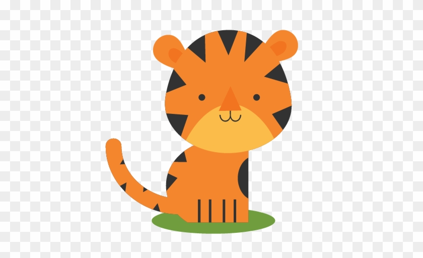 Tiger Svg Scrapbook Cut File Cute Clipart Files For - Scalable Vector Graphics #263271