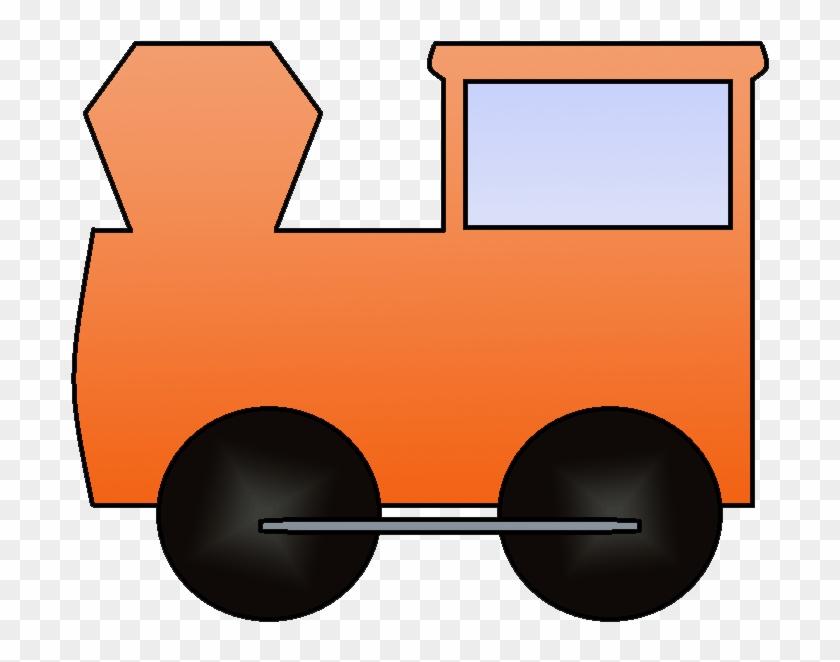 28 Collection Of Orange Train Clipart - Orange Train Engine Clipart #263311