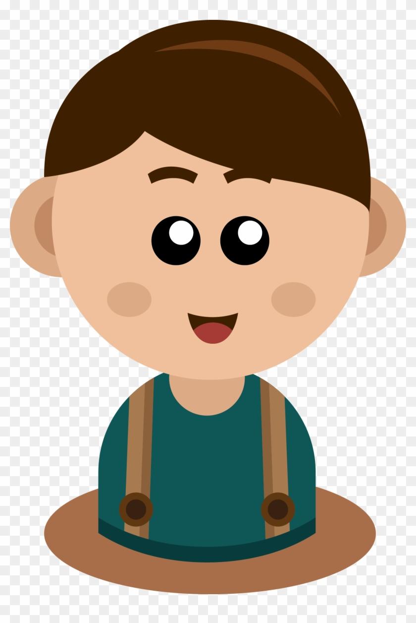 Kid Vector Boy Clip Art - Boy #263466
