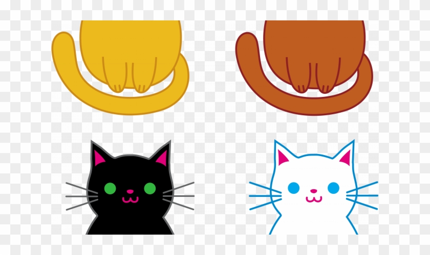 Cute Cat Pictures Free - Kittens Clipart #263503