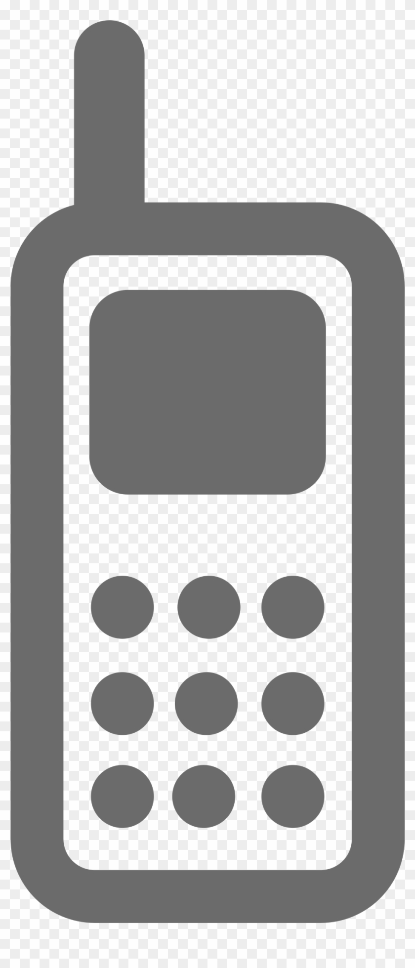Hd Cell Phone Logo Vector Image - Cell Phone Logo Png #263550