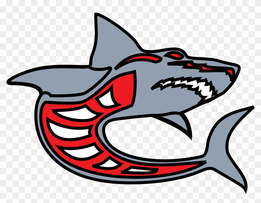 Shark Clip Art Red #263645