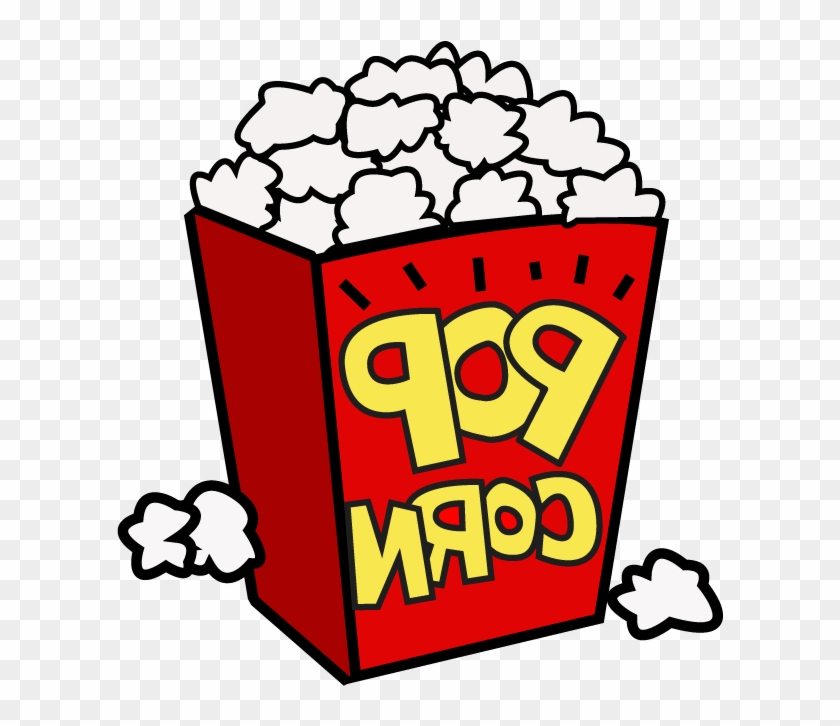 Movie Night Popcorn Clipart Free Clipart Images - Popcorn Clip Art Png #263646
