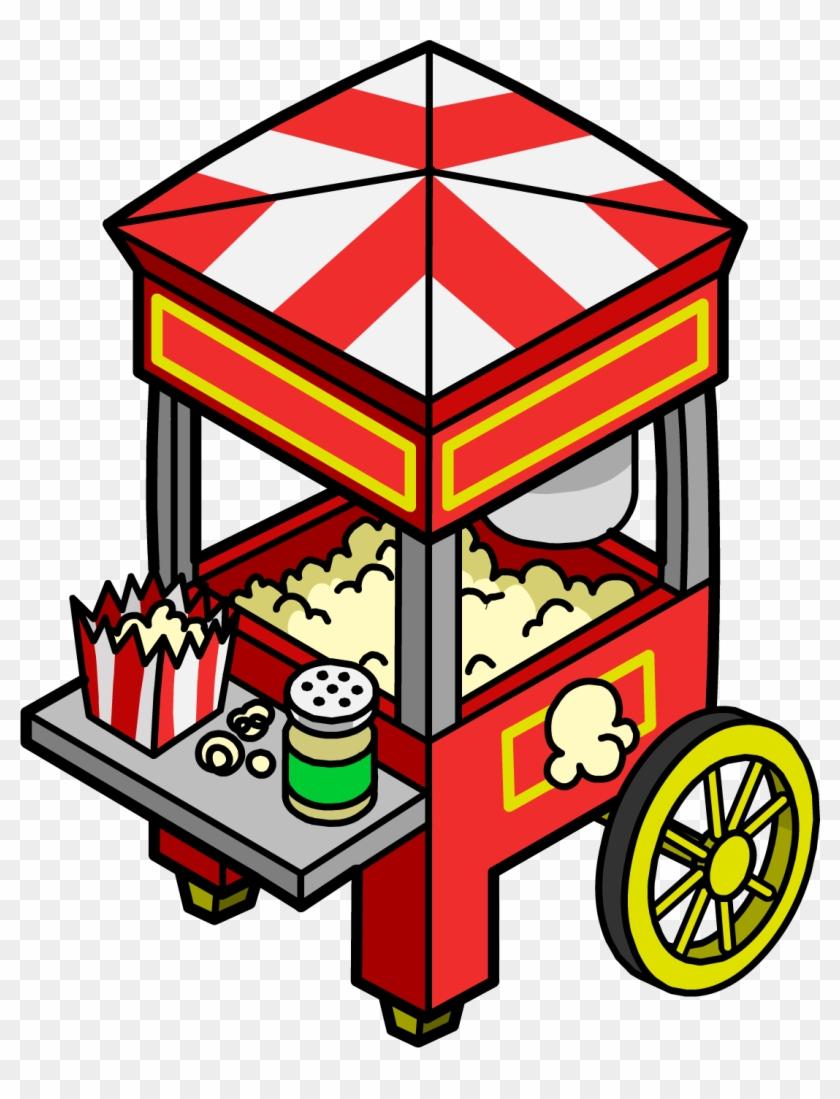 Popcorn Cart - Popcorn #263671