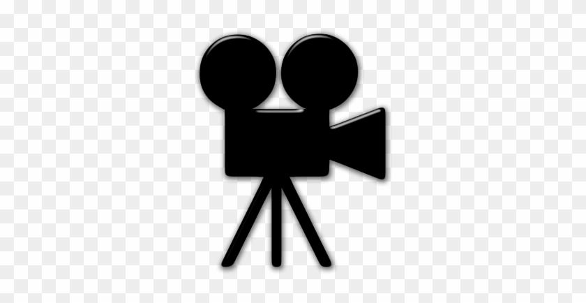 Hollywood Camera Cliparts - Movie Camera Icon Transparent Background #263685